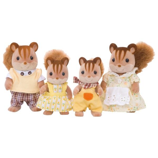 Sylvanian Families - Eichhörnchen Familie - 3136