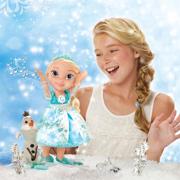 Disney Die Eiskönigin - Snow Glow Elsa mit Olaf