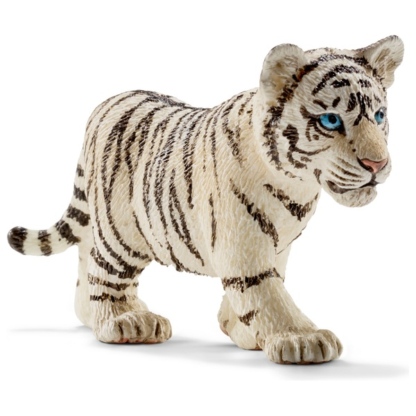 Schleich - 14732 Tiger Junges, weiß
