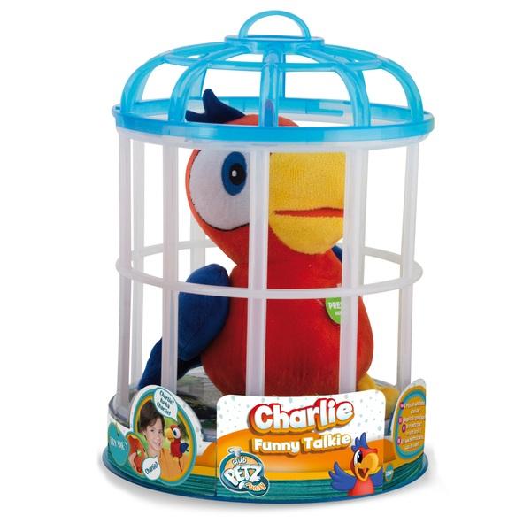 Papagei Charlie Talkie