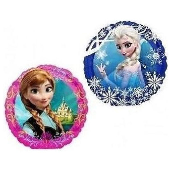 Disney Die Eiskönigin - Mini Folienballon Elsa/Anna