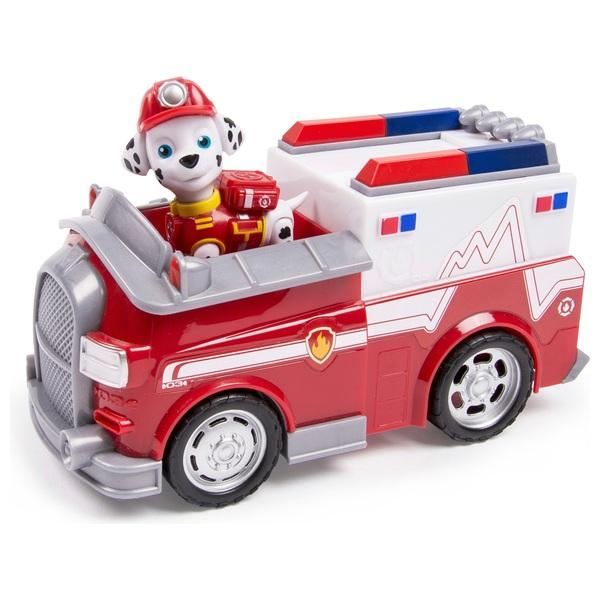 Paw Patrol - Rettungswagen mit Hundewelpe Marshall