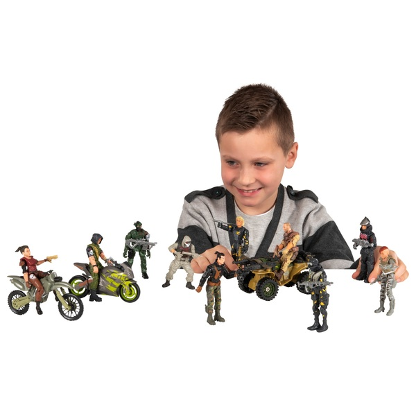 The Corps Elite - Deluxe-Set, 10 Figuren + 3 Fahrzeuge