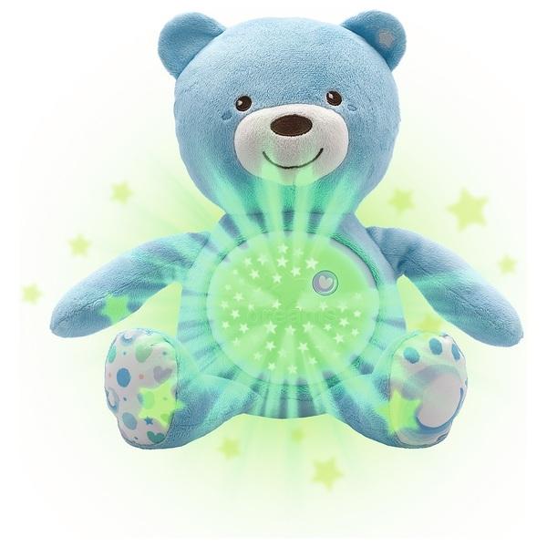 Chicco - First Dreams Nachtlicht: Baby Bär, blau