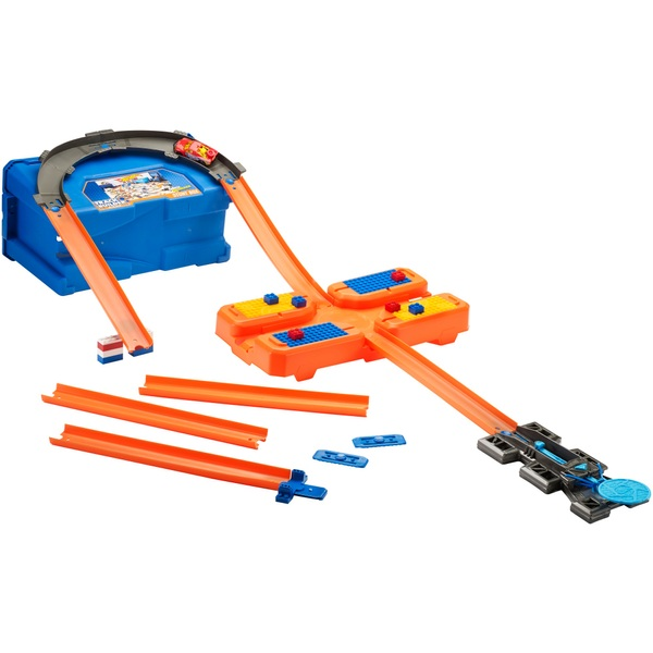 Hot Wheels - Track Builder: Starter Kit, Super Multi-Looping Box (FLK90)