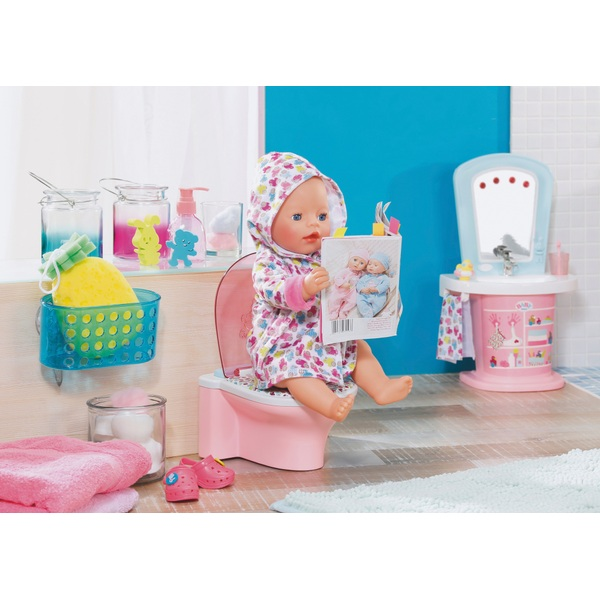 BABY born - Bathroom: Lustige Toilette