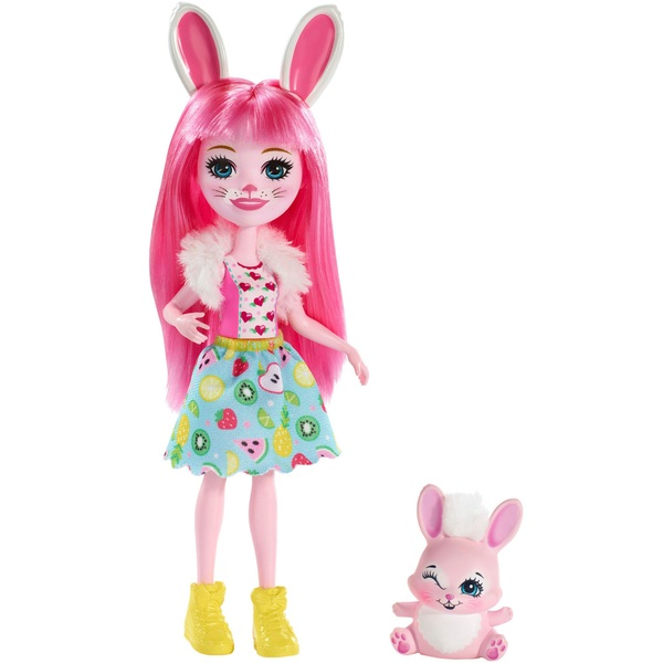 Enchantimals - Basis Puppe: Hasenmädchen Bree Bunny