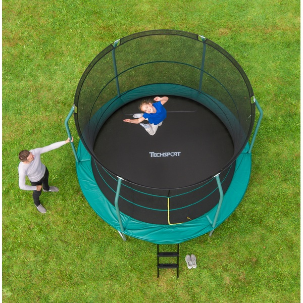 305 cm trampolin mit sicherheitsnetz trampoline deutschland. Black Bedroom Furniture Sets. Home Design Ideas