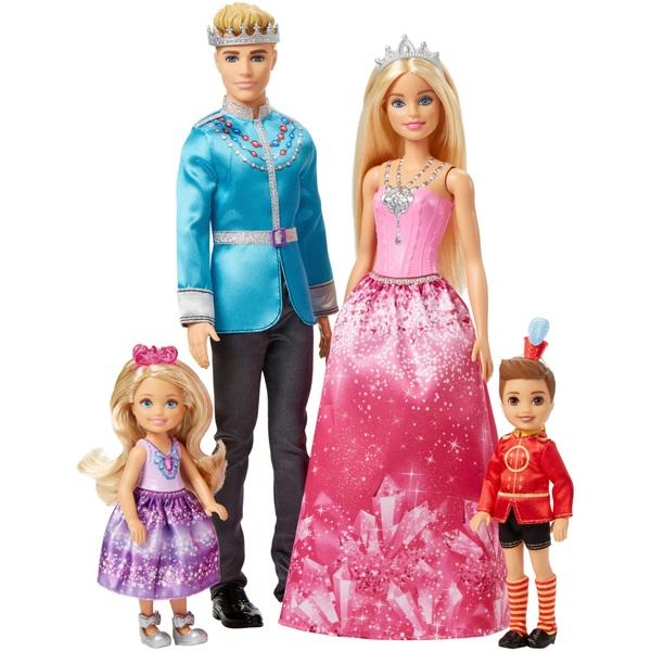 Barbie - Dreamtopia: Geschenkset Königliche Familie