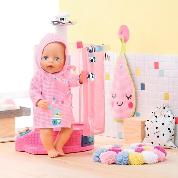 BABY born - Bathroom: Bademantel, rosa
