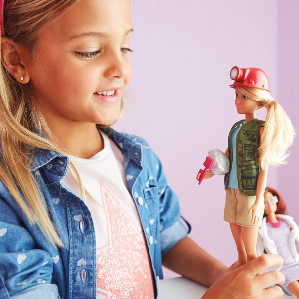 Barbie - Paläontologin Puppe