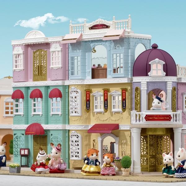 Sylvanian Families - Einkaufszentrum Wunschbrunnen Geschenkset