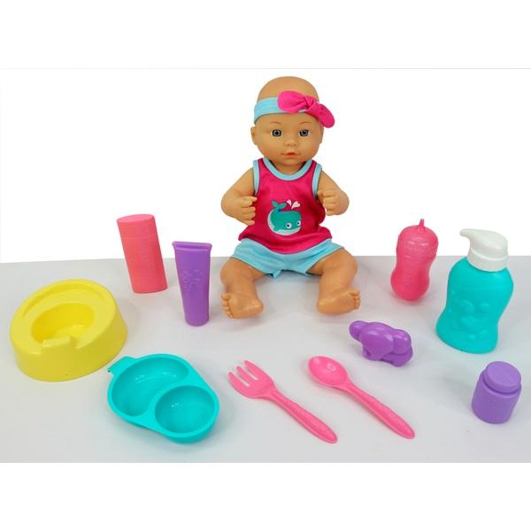 Babypuppe Töpfchen Spielset