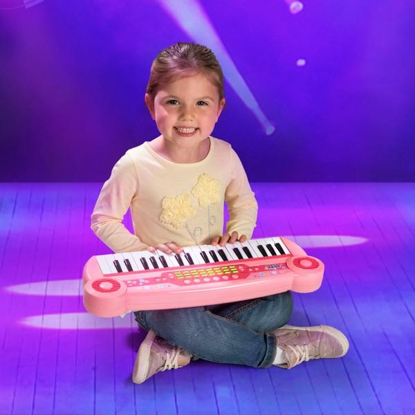 37 Tasten-Keyboard für Kinder pink