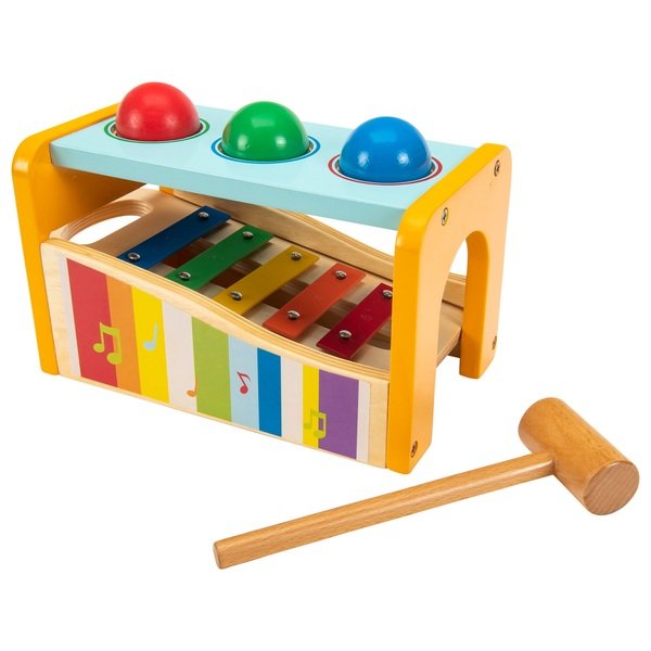 Squirrel Play - Holz-Xylophon und Hammerbank