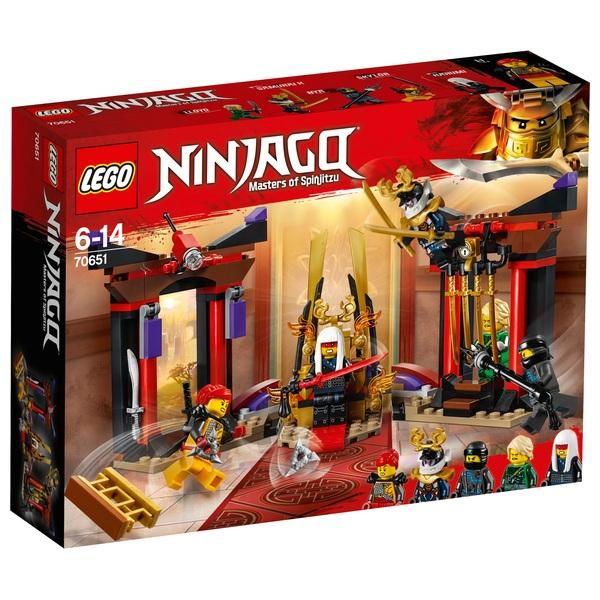 LEGO Ninjago - 70651 Duell im Thronsaal