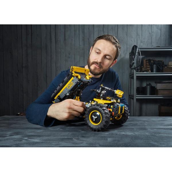 lego technic 42081 volvo konzept radlader zeux lego. Black Bedroom Furniture Sets. Home Design Ideas