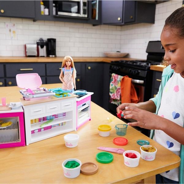 Barbie - Spielset Deluxe Küche