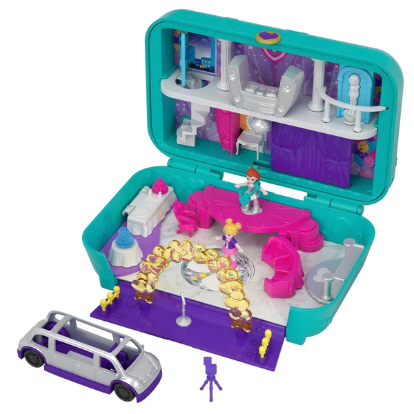 Polly Pocket - Spielset Versteckter Palast, Tanzparty