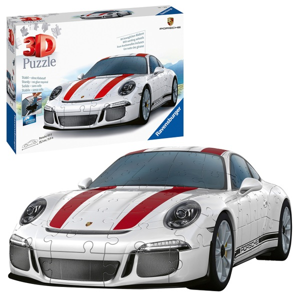 ravensburger 3d puzzle porsche 911 r 108 teile 3d. Black Bedroom Furniture Sets. Home Design Ideas