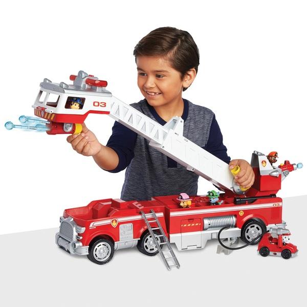 Paw Patrol - Ultimate Rescue: Ultimativer Feuerwehreinsatzwagen mit ausfahrbarer Leiter & Kabine