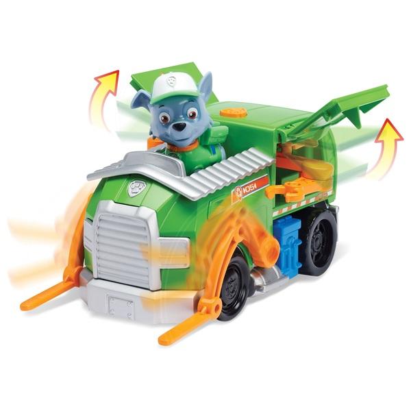 Paw Patrol - Verwandelbarer Recycling Truck mit Hundewelpe Rocky