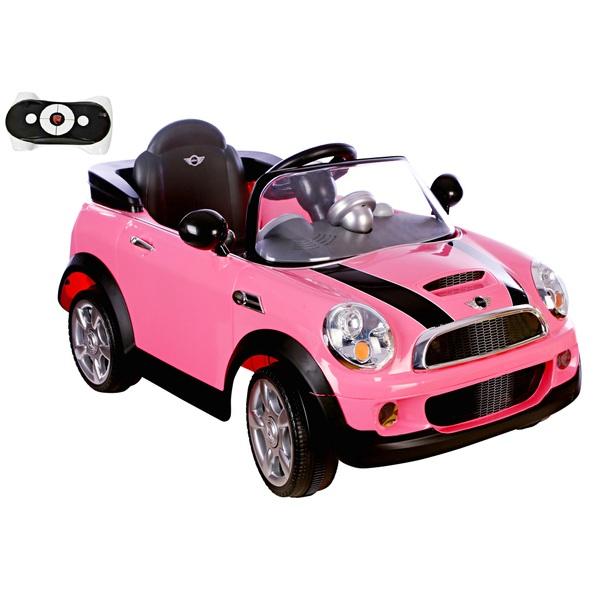 Mini Cooper Elektrofahrzeug 6V mit R/C