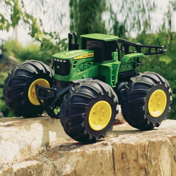 Tomy Rc John Deere Monster Treads Traktor Ferngesteuerte
