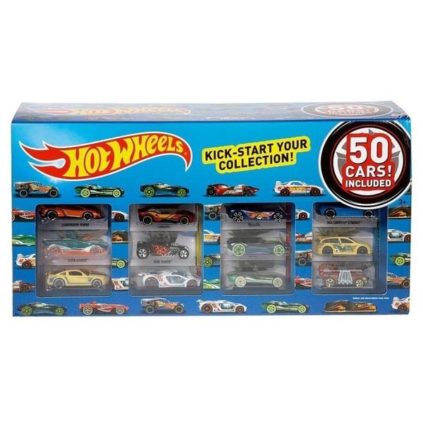 Hot Wheels - Fahrzeuge, 50er Pack