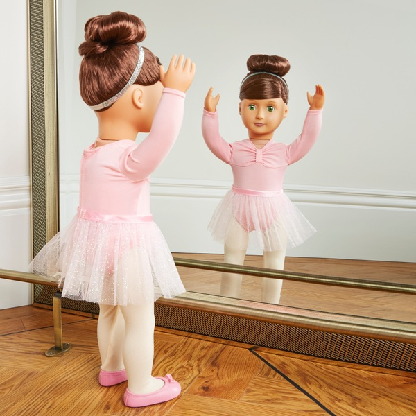 Our Generation - Deluxe Ballerina-Puppe Sidney Lee