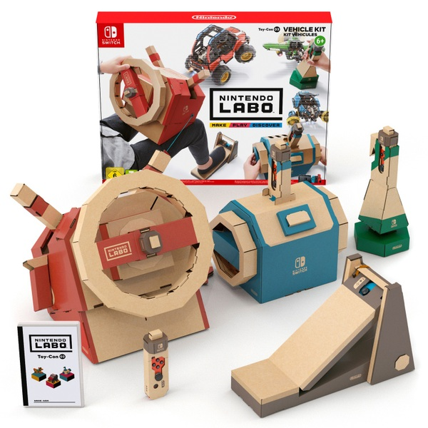 Nintendo - Switch: Nintendo Labo Toy-Con 03 Fahrzeug-Set