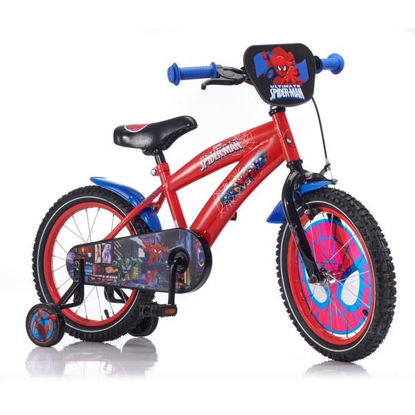 Spider Man Kinderfahrrad 10 Zoll | Spielzeug | merkandi.at