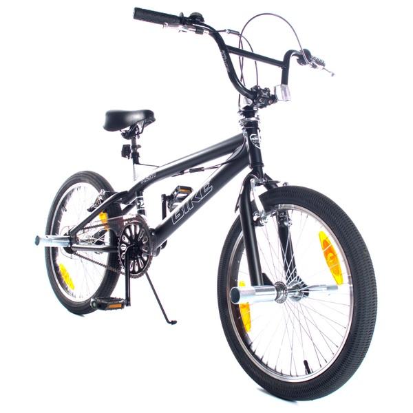 Kent - 20 Zoll BMX Fahrrad Black Bike, schwarz