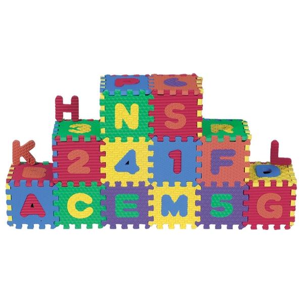 Big Steps - Puzzlematte Zahlen und Alphabet, klein