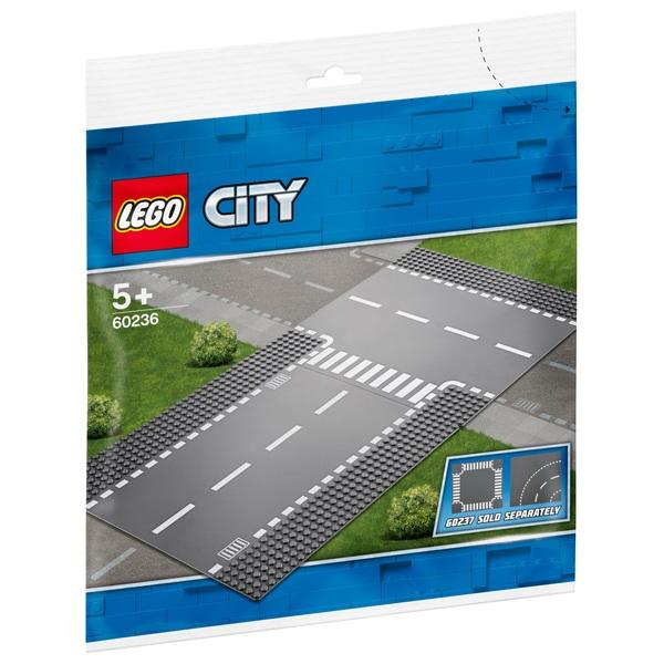 LEGO City - 60236 Gerade und T-Kreuzung