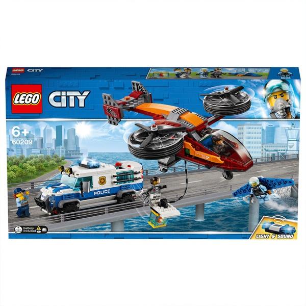 Lego City 60209 Polizei Diamantenraub Lego City Deutschland