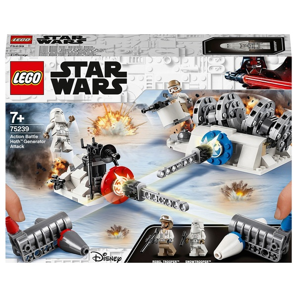 LEGO Star Wars - 75239 Action Battle Hoth Generator-Attacke - LEGO Star  Wars Deutschland