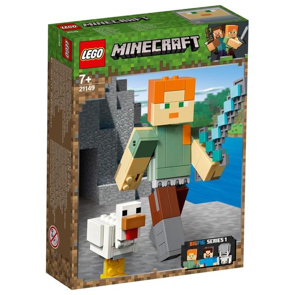 LEGO Minecraft - 21149 BigFig Alex mit Huhn