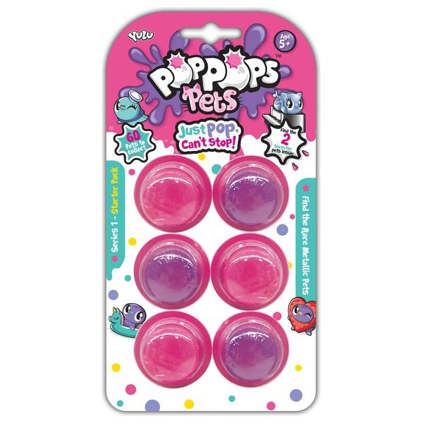 Pop Pops - Pets, 6-er Pack, Serie 1, sortiert