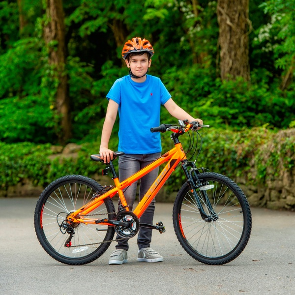 20 Zoll Mountainbike X Team MX 20, orange | Smyths Toys Superstores