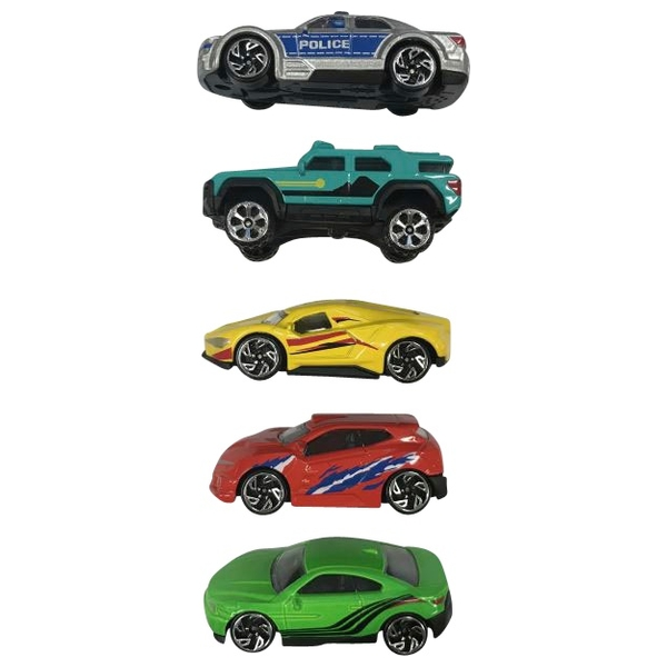Die-Cast Spielset Modell-Auto, 5-tlg.