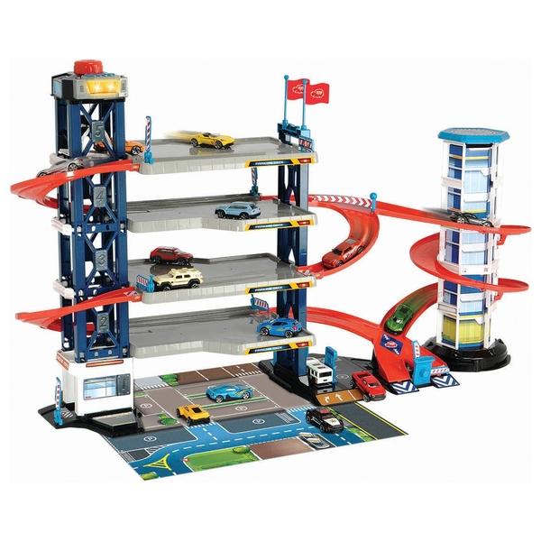 Dickie Toys - Parkgarage mit Licht und Sound