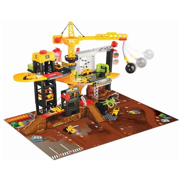 Dickie Toys - Baustellenset mit Licht und Sound
