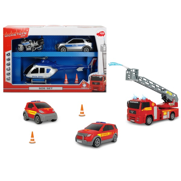 Dickie Toys - S.O.S.-Set, sortiert