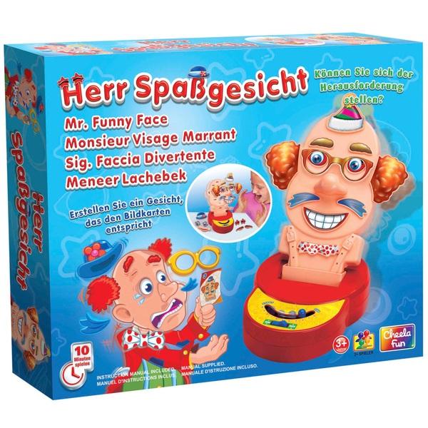 Herr Spaßgesicht