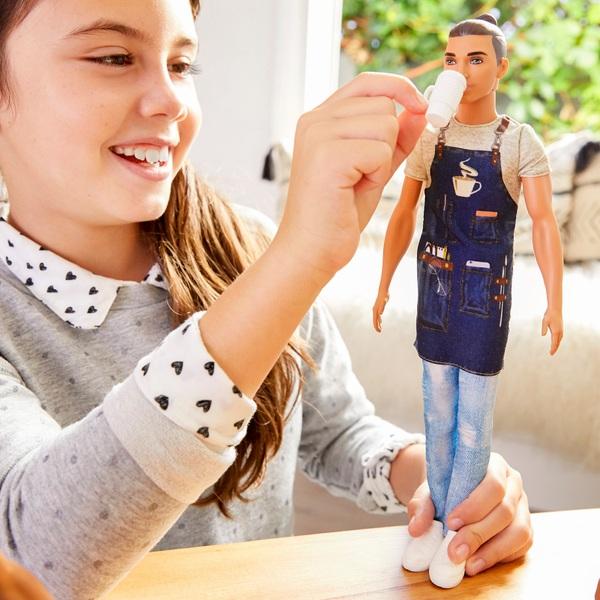 Barbie - Ken Career Puppe: Barista