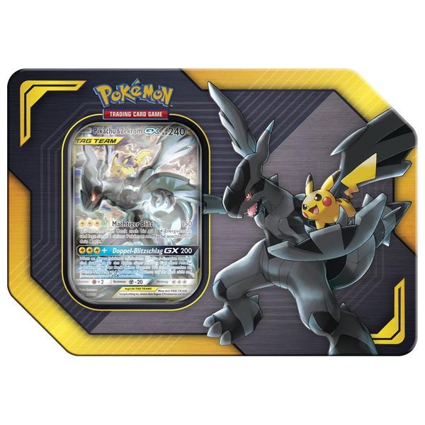 Pokémon Pikachu Und Zekrom Gx Tag Team Tin Box Trading Card