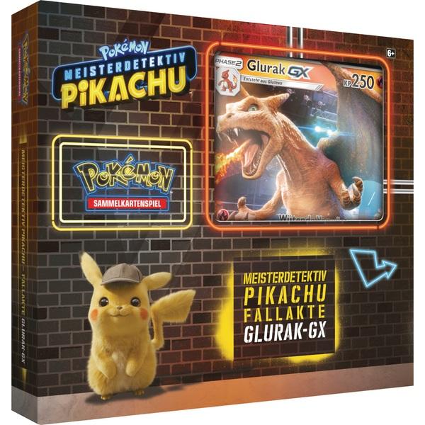 Pokémon Meisterdetektiv Pikachu Glurak Gx Box Trading Card Games