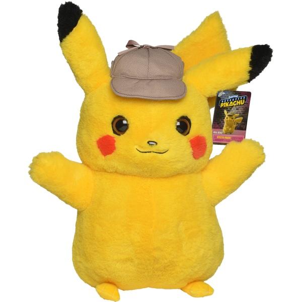 Pokémon - Meisterdetektiv Pikachu Plüschfigur, 40cm