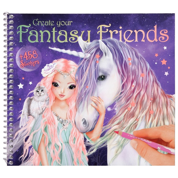 TOPModel - Create your Fantasy Friend